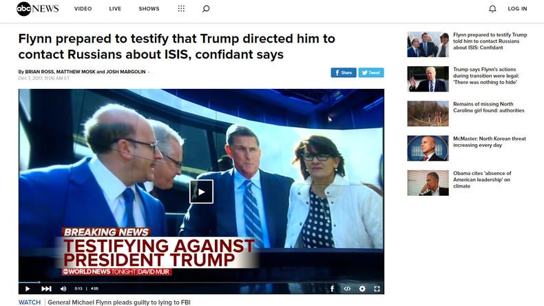 US-Sender beurlaubt Reporter wegen schweren Irrtums in Bericht über Donald Trumps Ex-Berater