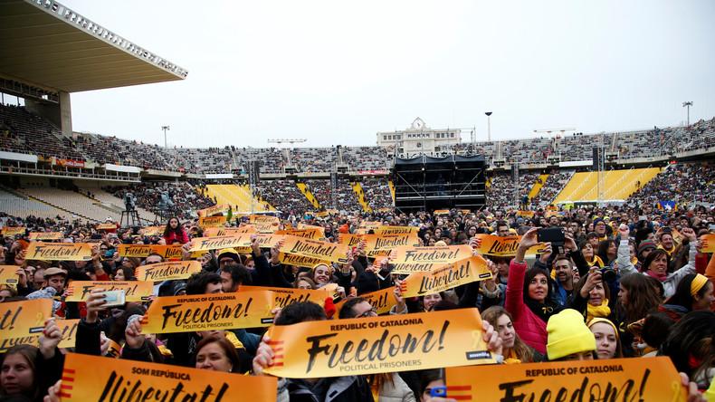 Barcelona: Gelb-Verbot! Die Farbe des Separatismus [Video]