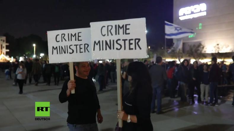 """Israel: Zehntausende schließen sich """"Marsch der Schande"""" an"""