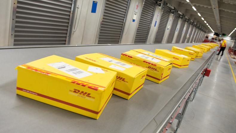 Potsdamer Bombe: Unbekannte wollten Paketlieferdienst DHL erpressen