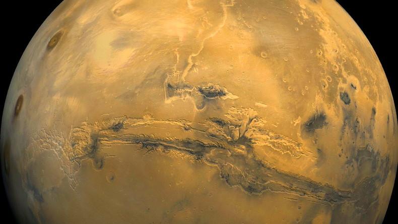 Studie: Erdrutsche auf Mars bewegen sich mit Hurrikan-Geschwindigkeit