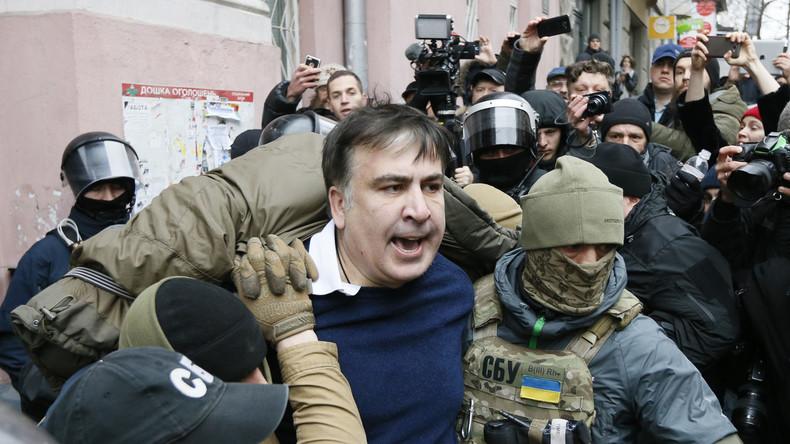 LIVE: Proteste in Kiew nach Festnahme von Micheil Saakaschwili