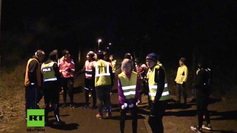 Schweden: Abendliche Jogger können mit bewaffneten Polizisten laufen, um sich sicherer zu fühlen