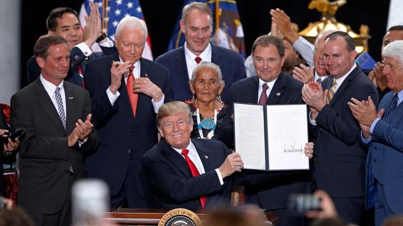 Donald Trump verkleinert Naturschutzgebiete drastisch – Umweltschützer erheben Klage vor Gericht