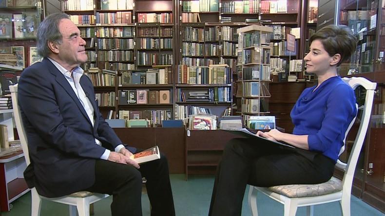 """Oliver Stone im Exklusiv-Interview für RT: """"Wladimir Putin ist der ultimative Verhandlungsführer"""""""