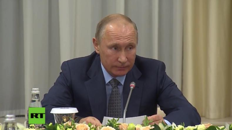 Putin: Christliche Gebiete in Syrien vom IS-Terror befreit - Entschlossene Arbeiten am Wiederaufbau