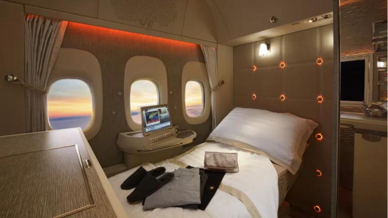 Aussichtsreiches Panorama: Emirates bietet Flugzeug mit virtuellen Fenstern an