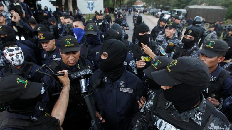 Nach Wahl in Honduras: Polizei will nicht gegen Demonstranten vorgehen, 2.000 Beamte streiken