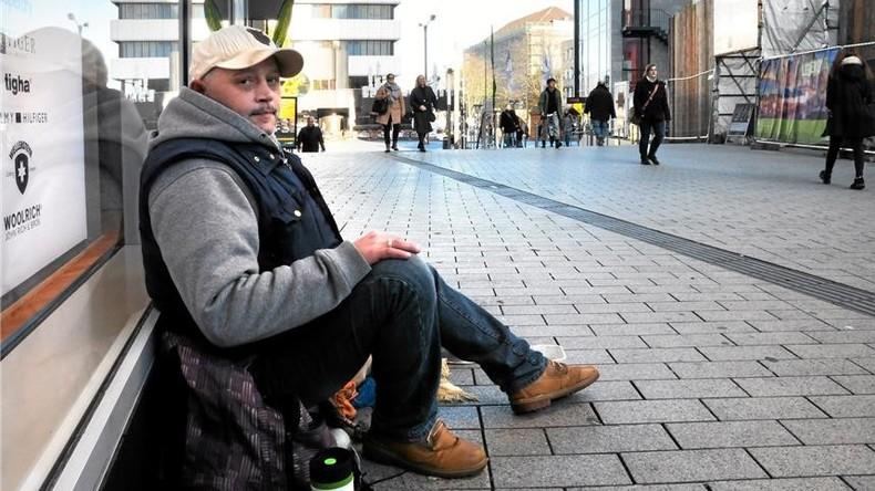 Dortmunder Bettler darf 204 Euro pro Monat behalten