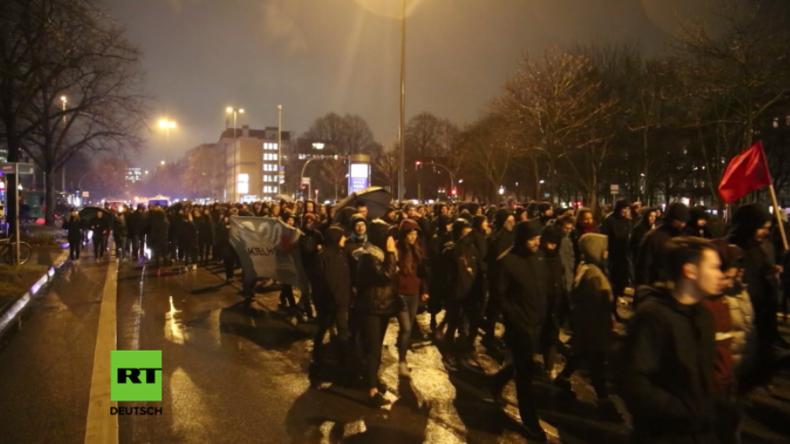 Nach Razzien gegen G20-Linksextremisten: Linke Szene Hamburgs zieht zum Protest auf die Straße
