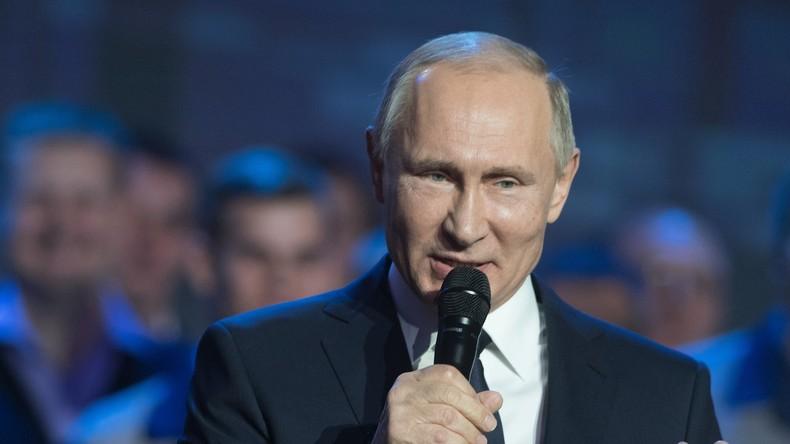 Putin: Wir werden unsere Sportler nicht an Teilnahme an Olympia-2018 hindern