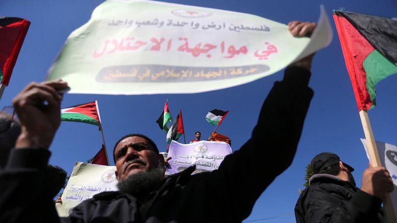 Nach Anerkennung Jerusalems als Hauptstadt durch die USA - Hamas ruft zu neuer Intifada auf