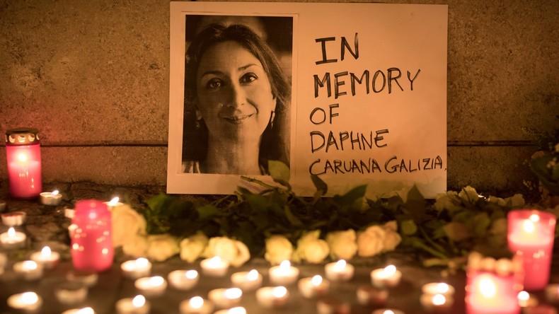 Mord an Journalistin auf Malta: Bombe mit SMS ausgelöst - drei Angeklagte