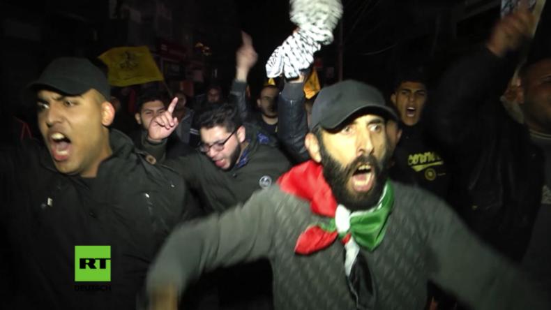 """""""Jerusalem gehört uns, nicht den Zionisten!"""" - In Palästina explodiert die Wut"""