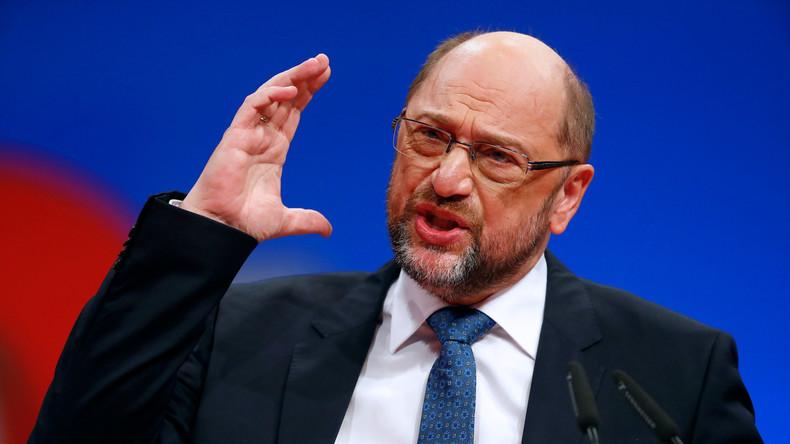 SPD-Parteitag: Schulz will Vereinigte Staaten von Europa bis 2025