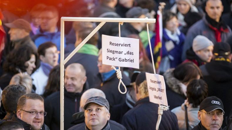 Miniatur-Galgen für Merkel und Gabriel dürfen verkauft werden