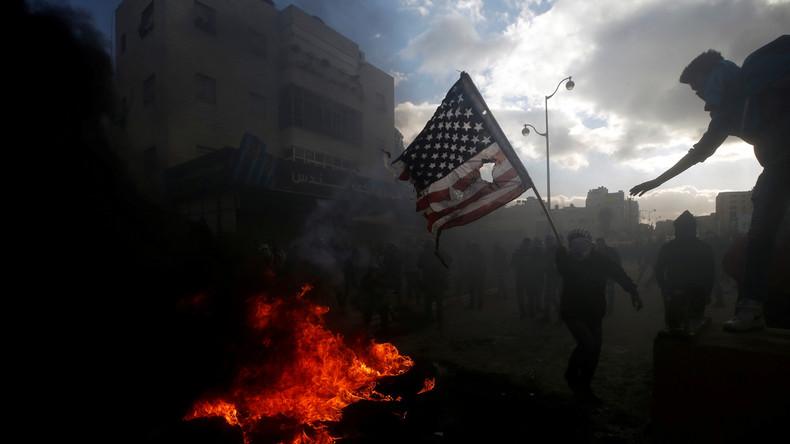 LIVE: Auseinandersetzungen bei Beit El Siedlung nach Trumps Entscheidung zu Jerusalem
