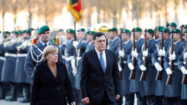 LIVE: Kanzlerin Merkel und der libysche Premier Fayiz as-Sarradsch geben Pressekonferenz