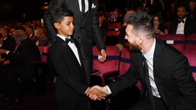 """Sohn von Ronaldo nennt Messi """"sein Idol"""" – anschließend wird sein Instagram-Account gelöscht"""