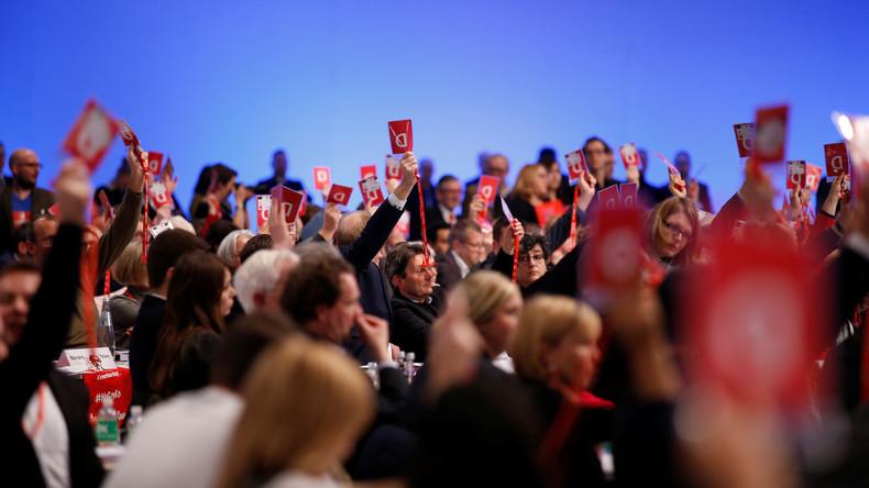 SPD-Parteitag gibt grünes Licht für Gespräche mit Union