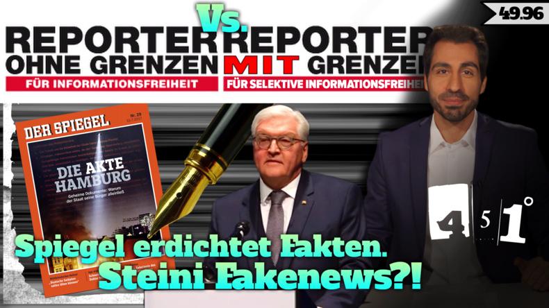 Steinmeier Fakenews Spiegel Fakenews Glyphosat Fakenews | 451 Grad Fakenews