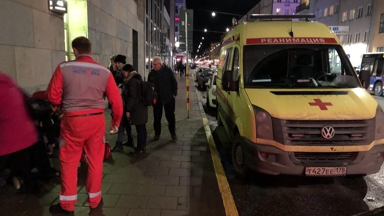 Mysteriöser russischer Krankenwagen in Stockholm aufgetaucht