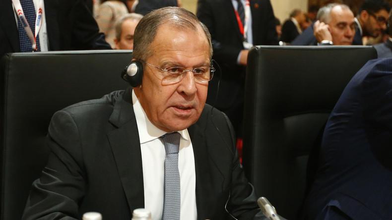 LIVE: Lawrow hält Pressekonferenz am Rande des OSZE-Ministertreffens – mit englischer Übersetzung