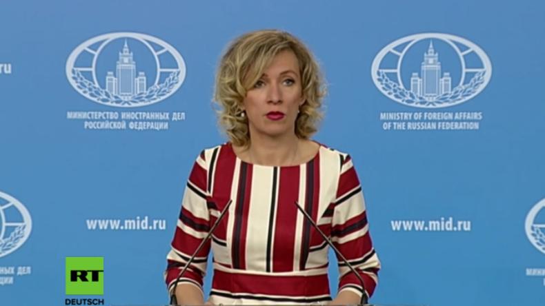 Sacharowa: US-Geheimdienste fahren große Offensive gegen Meinungsfreiheit auf der Welt