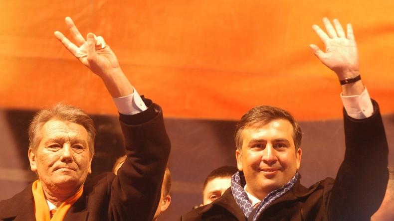 Saakaschwili als Kreml-Agent: Poroschenko bemüht absurden Vorwurf zur Dämonisierung seines Kritikers