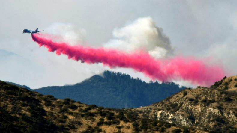 Kampf gegen Buschfeuer in Kalifornien geht weiter