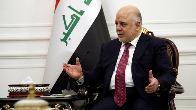 Iraks Premier Haidar al-Abadi verkündet komplette Vertreibung von IS