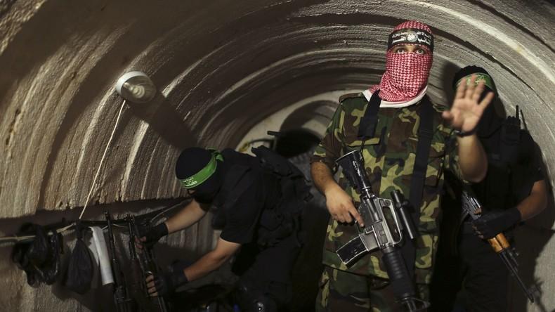 Israels Armee zerstört Hamas-Angriffstunnel aus Gaza