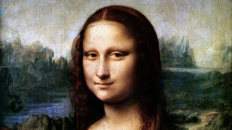 """US-Forscher """"malen"""" Mona Lisa mit DNA-Molekülen nach"""