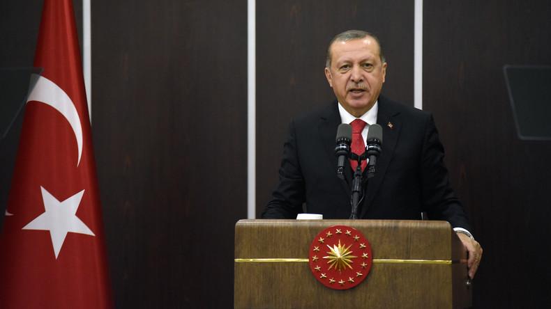 """Recep Tayyip  Erdoğan bezeichnet Israel als """"Terrorstaat"""""""
