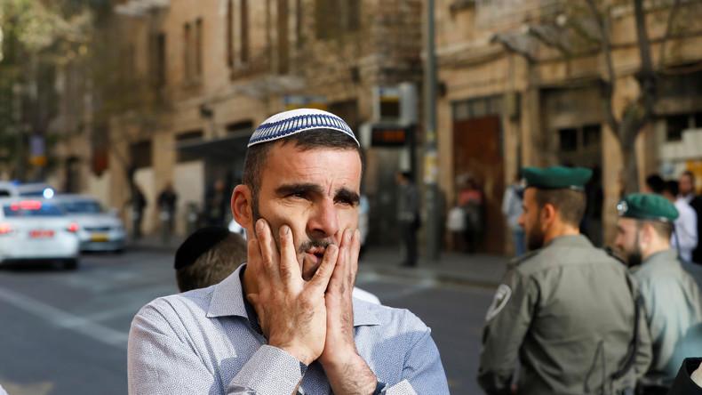 """""""Terroranschlag"""": Israelischer Sicherheitsbeamter von Palästinenser mit Messer verletzt"""