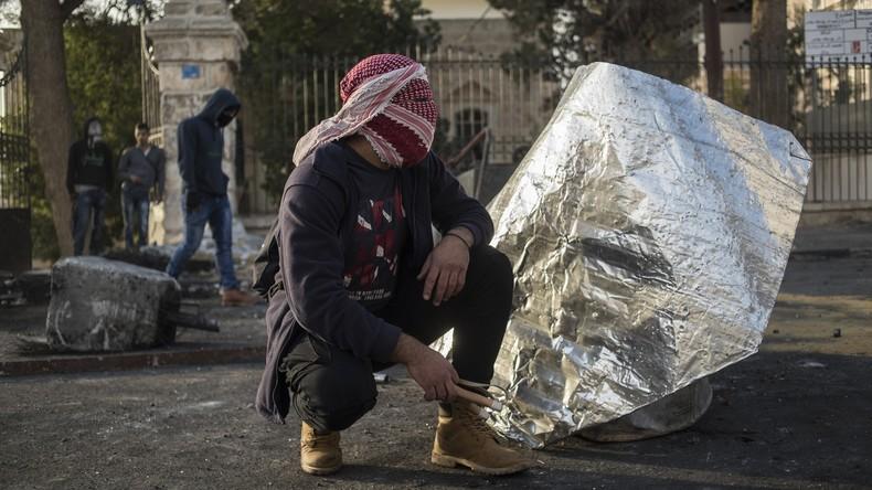 Nach Trumps Jerusalem-Entscheidung: Israelisch-palästinensisches Grenzgebiet bleibt unruhig