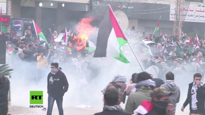 Büchse der Pandora? Trumps Jerusalem-Entscheidung lässt Muslime weltweit auf die Straßen ziehen