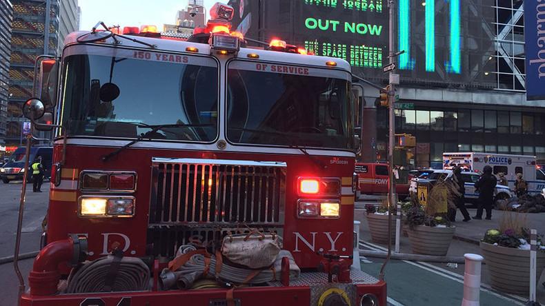 Live: Großeinsatz in Manhattan nach Explosion am Busbahnhof - Polizei evakuiert Metro-Linien
