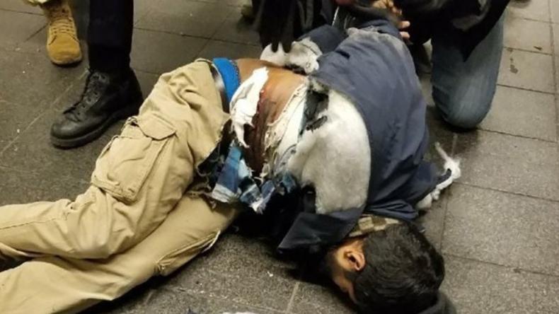 """""""Versuchter Terroranschlag"""" - Video und Foto sollen Anschlag und Attentäter in New York zeigen"""