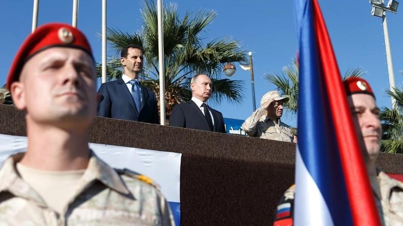 Putin zu russischen Soldaten in Syrien: Ihr kehrt als Sieger zu euren Familien und Freunden zurück