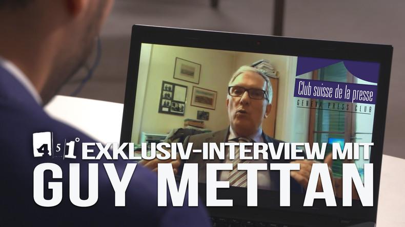 Exklusiv-Interview mit Guy Mettan - Presseclub verliert nach Kritik an Weißhelmen Fördergelder
