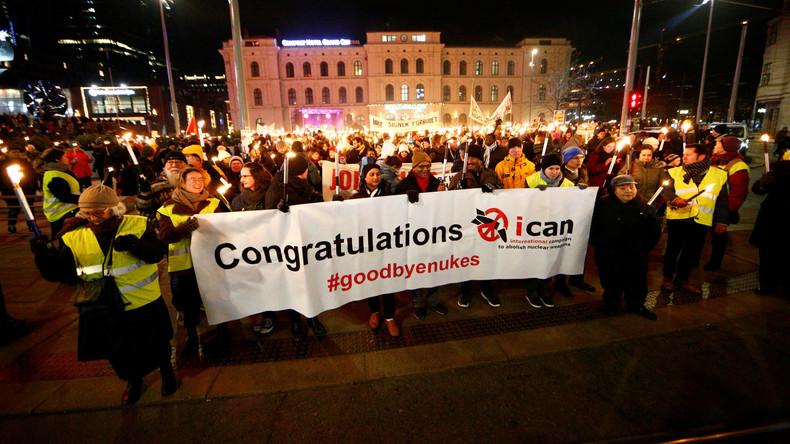 Friedensnobelpreisträger ICAN fordert Abzug aller Atomwaffen aus Deutschland [Video]