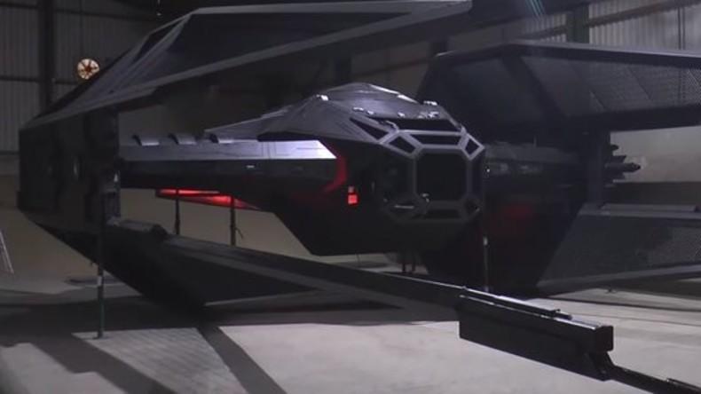 Brite baut Jagdraumschiff aus Star Wars in Originalgröße nach - aber nicht flug- und schusstauglich