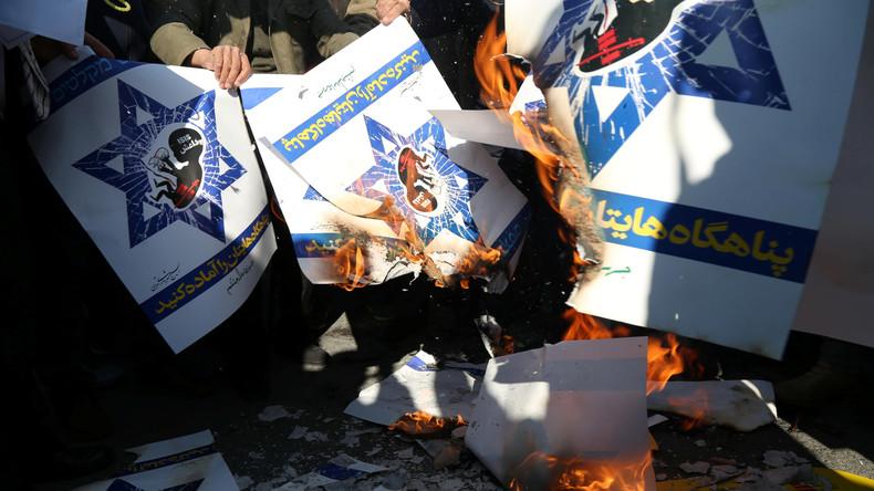 """Iran: """"Trumps Jerusalem-Entscheidung wird die Zerstörung Israels beschleunigen und Muslime einen"""""""