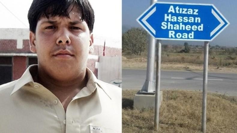 Pakistan benennt Straße nach 15-jährigem Lebensretter