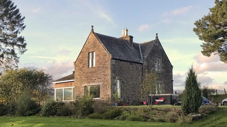 Stillgelegte Eisenbahnstation als Luxus-Haus für fast halbe Million Euro in Schottland zum Verkauf