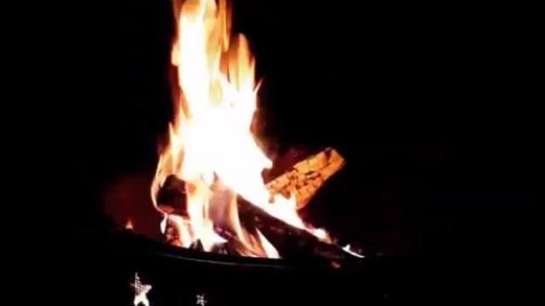 Geburtstag endet in Flammen