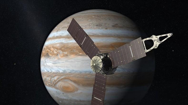 Astronomen messen Tiefe des Großen Roten Flecks des Jupiters
