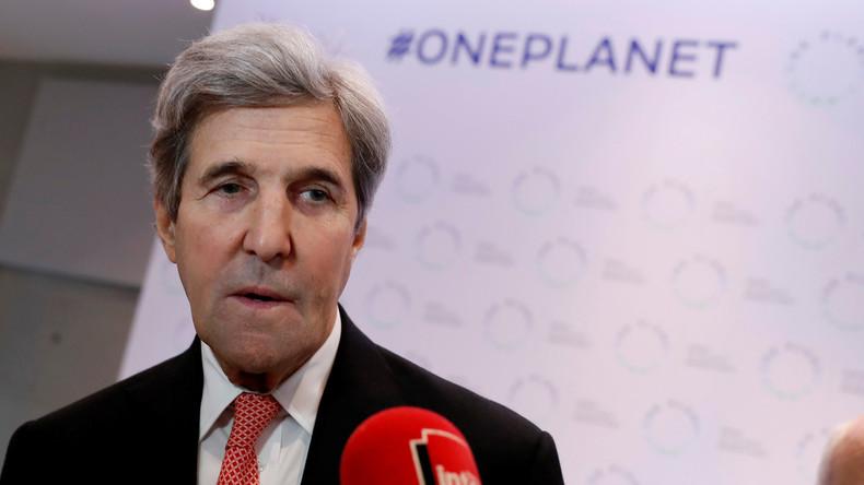 Ex-US-Außenminister Kerry: USA können Klimaziele trotz Trump erreichen