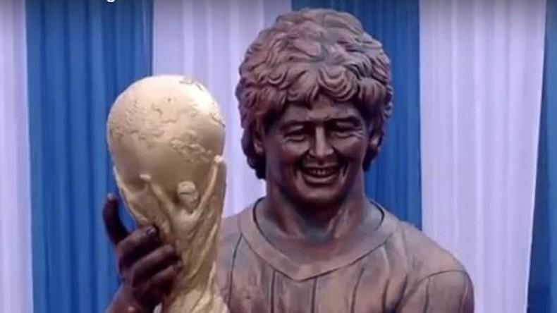 Maradona-Statue macht CR7-Büste Konkurrenz